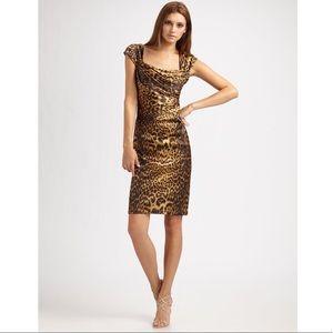 """Tadashi Shoji """"Gdani"""" Leopard Dress"""